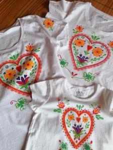tričká a sukne